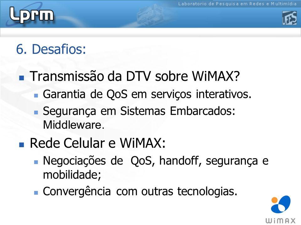 Transmissão da DTV sobre WiMAX