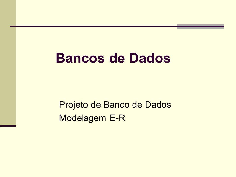 Projeto de Banco de Dados Modelagem E-R