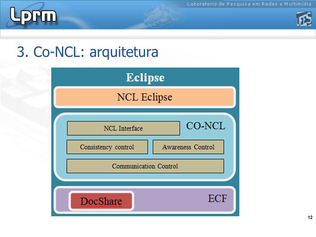 3. Co-NCL: arquitetura