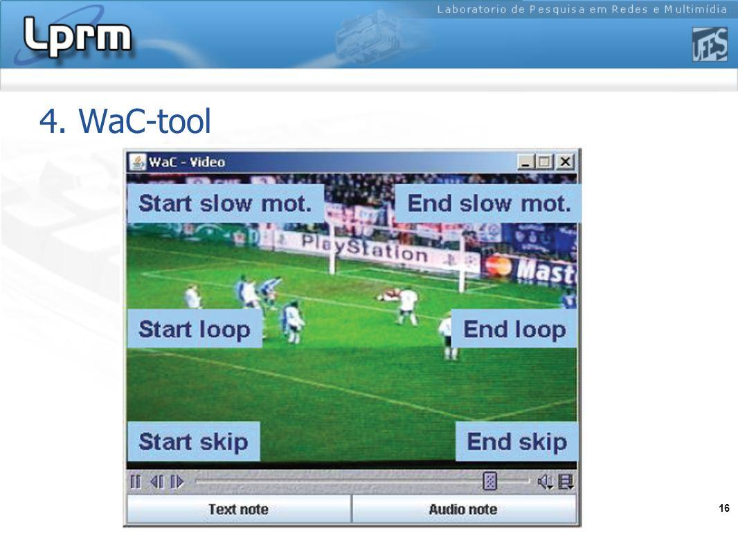 4. WaC-tool