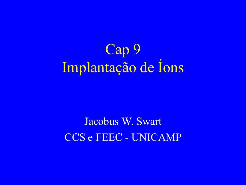 Cap 9 Implantação de Íons