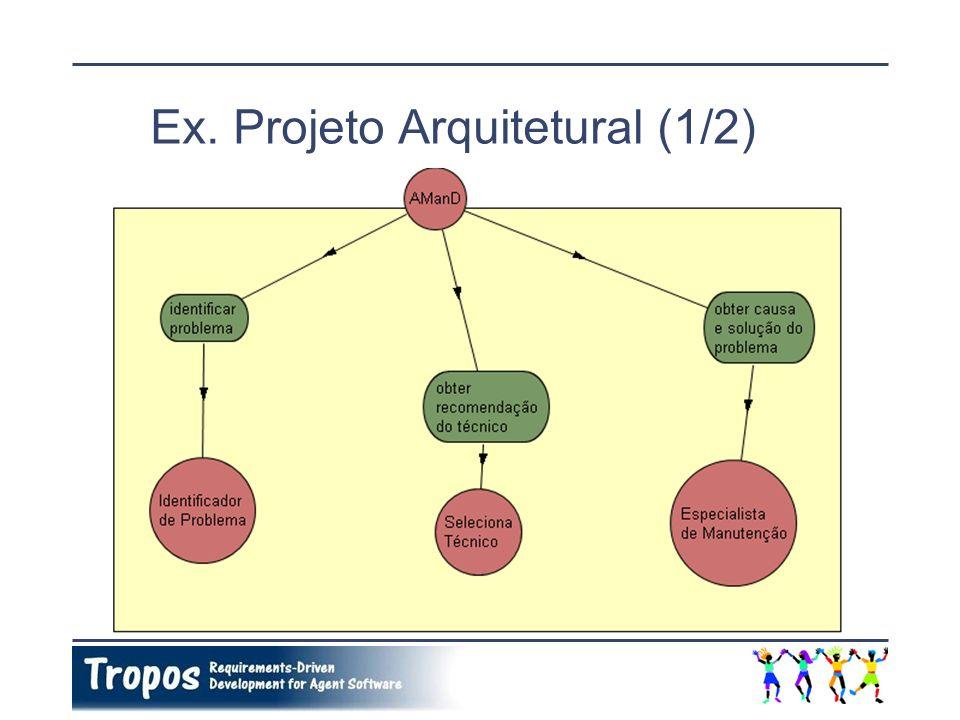 Ex. Projeto Arquitetural (1/2)