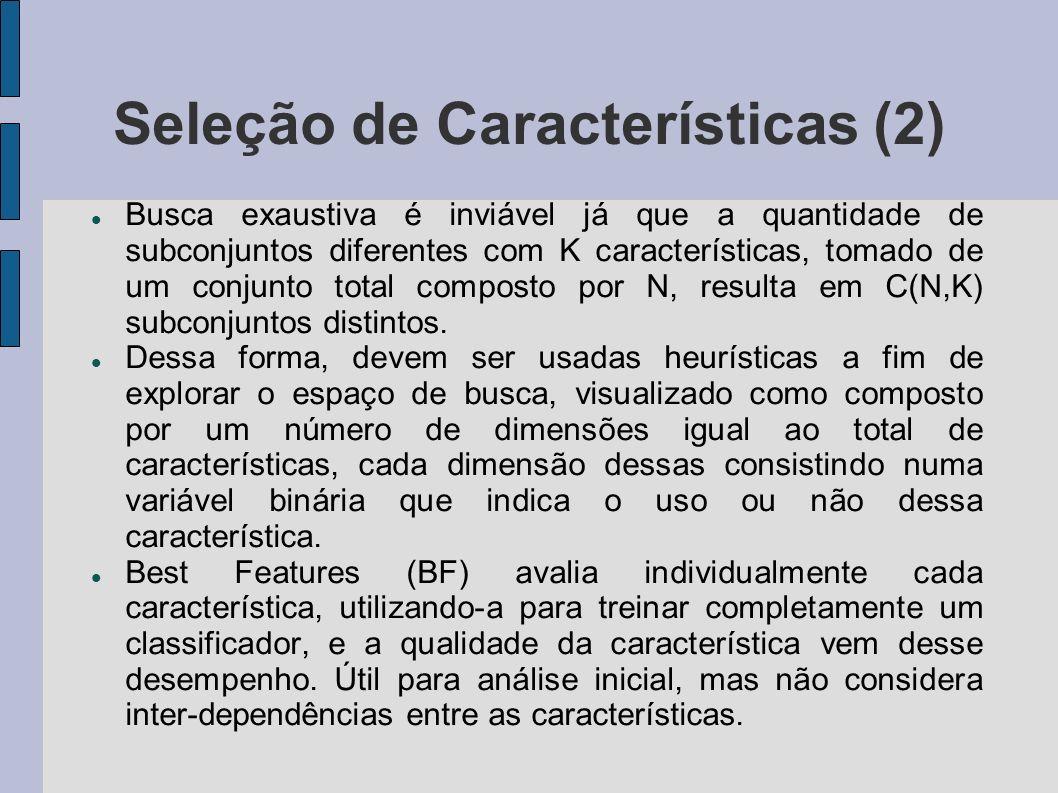 Seleção de Características (2)