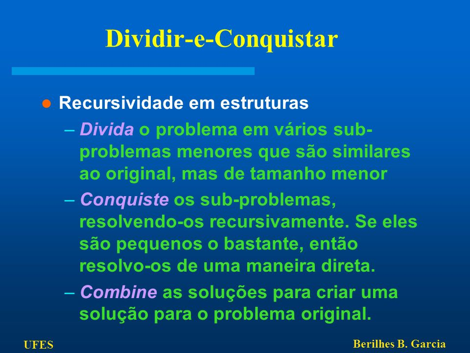 Dividir-e-Conquistar