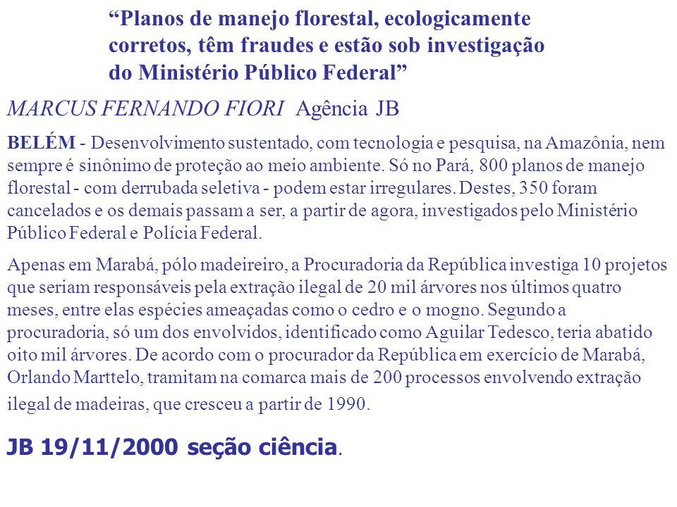 MARCUS FERNANDO FIORI Agência JB