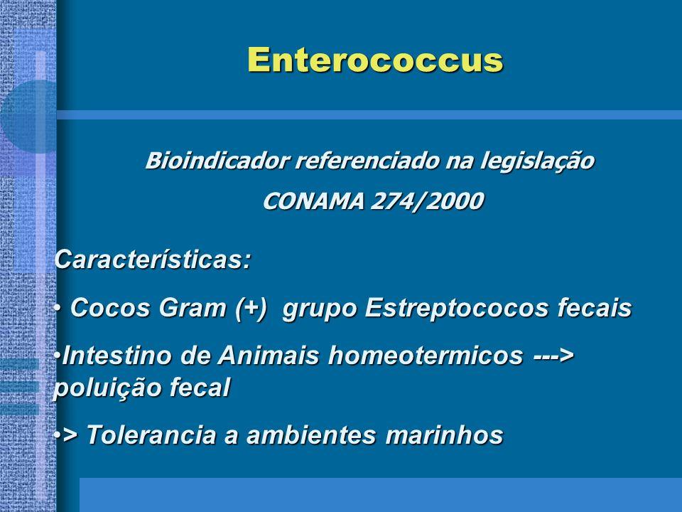 Bioindicador referenciado na legislação