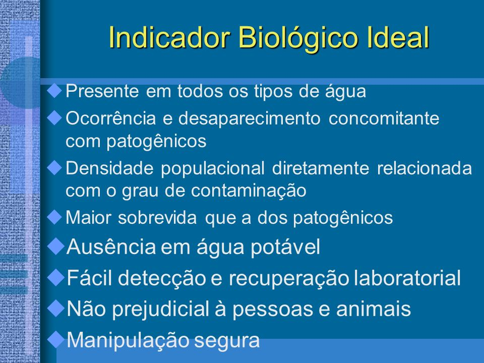 Indicador Biológico Ideal
