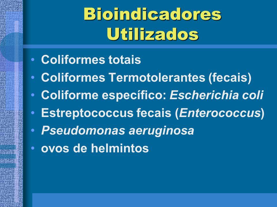Bioindicadores Utilizados