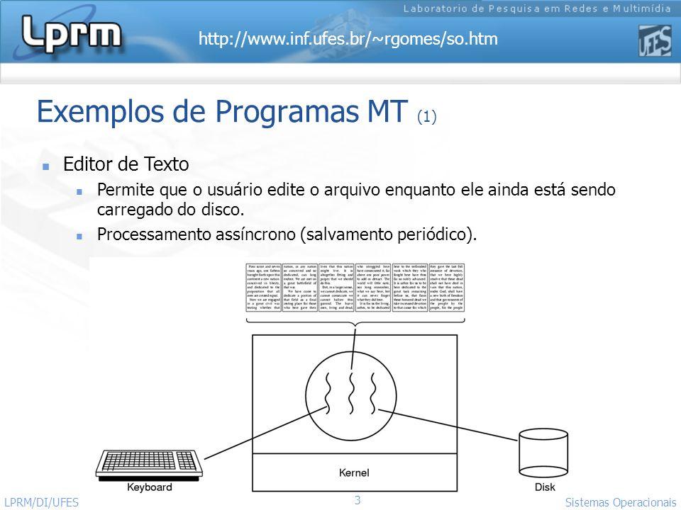 Exemplos de Programas MT (1)