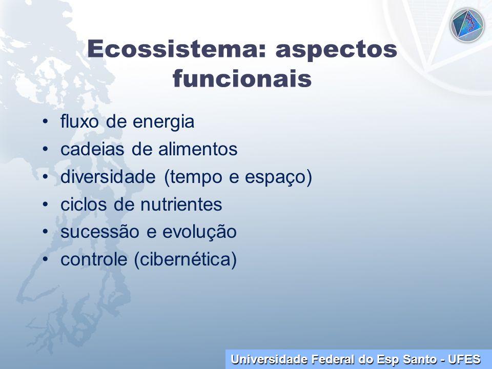 Ecossistema: aspectos funcionais