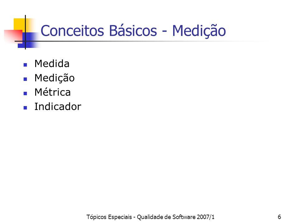 Conceitos Básicos - Medição