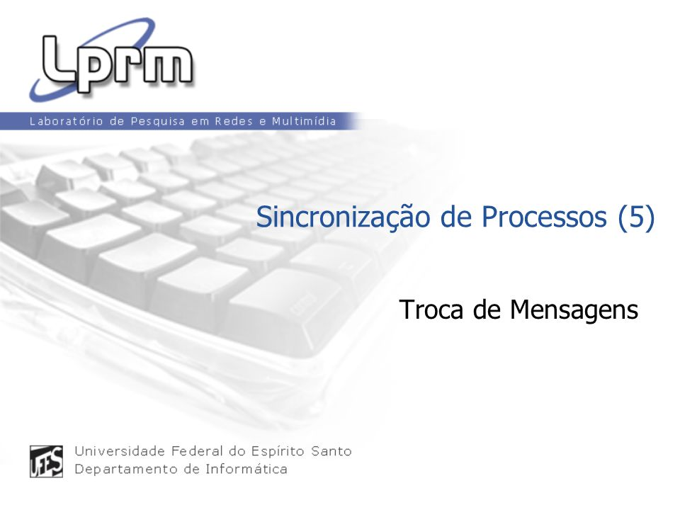 Sincronização de Processos (5)