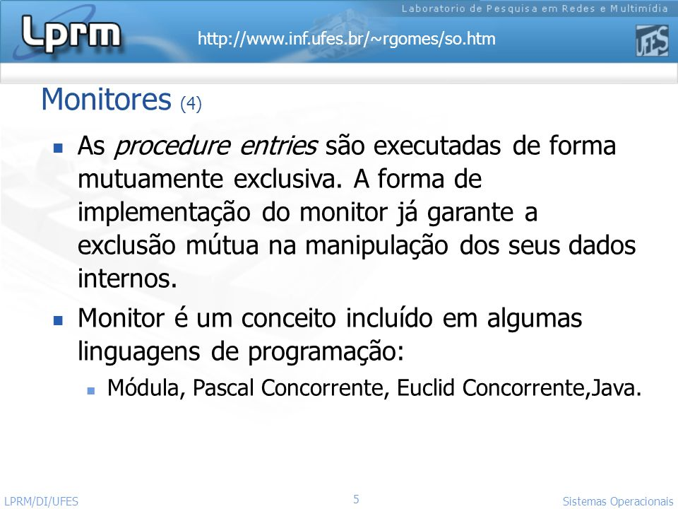 Monitores (4)