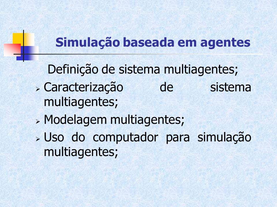 Simulação baseada em agentes
