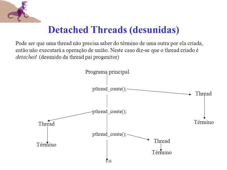 Detached Threads (desunidas)