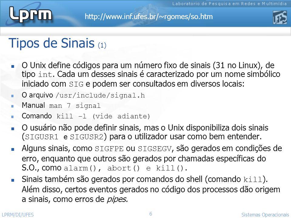 Tipos de Sinais (1)