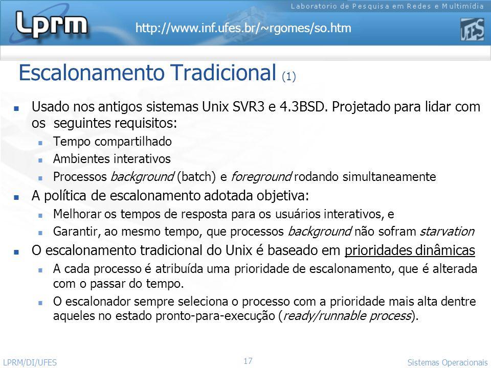 Escalonamento Tradicional (1)