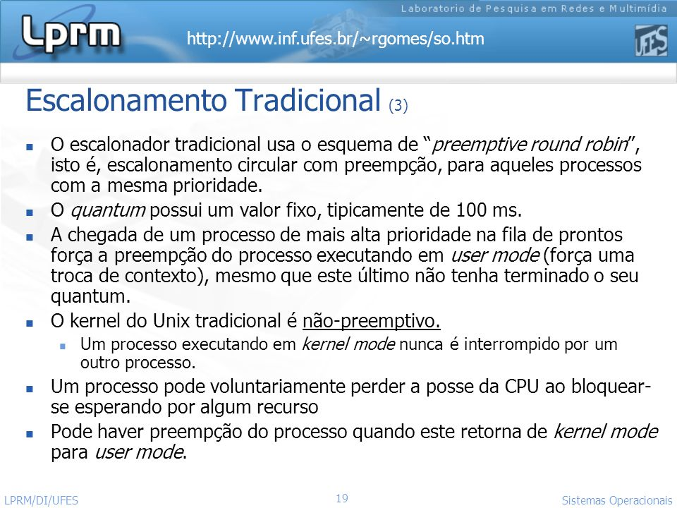 Escalonamento Tradicional (3)