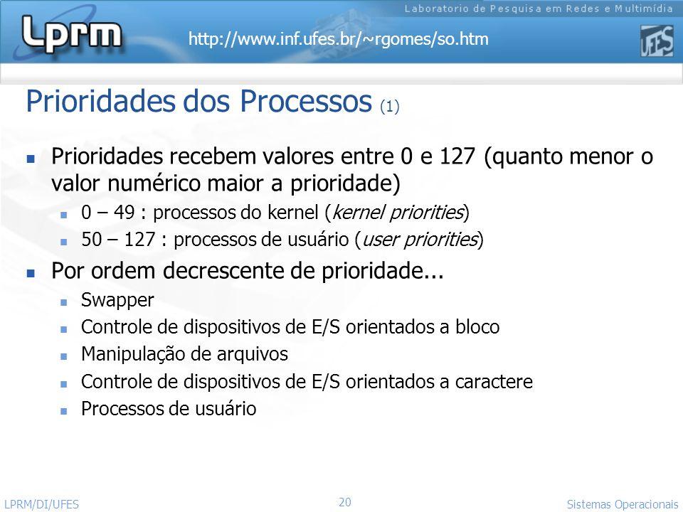 Prioridades dos Processos (1)
