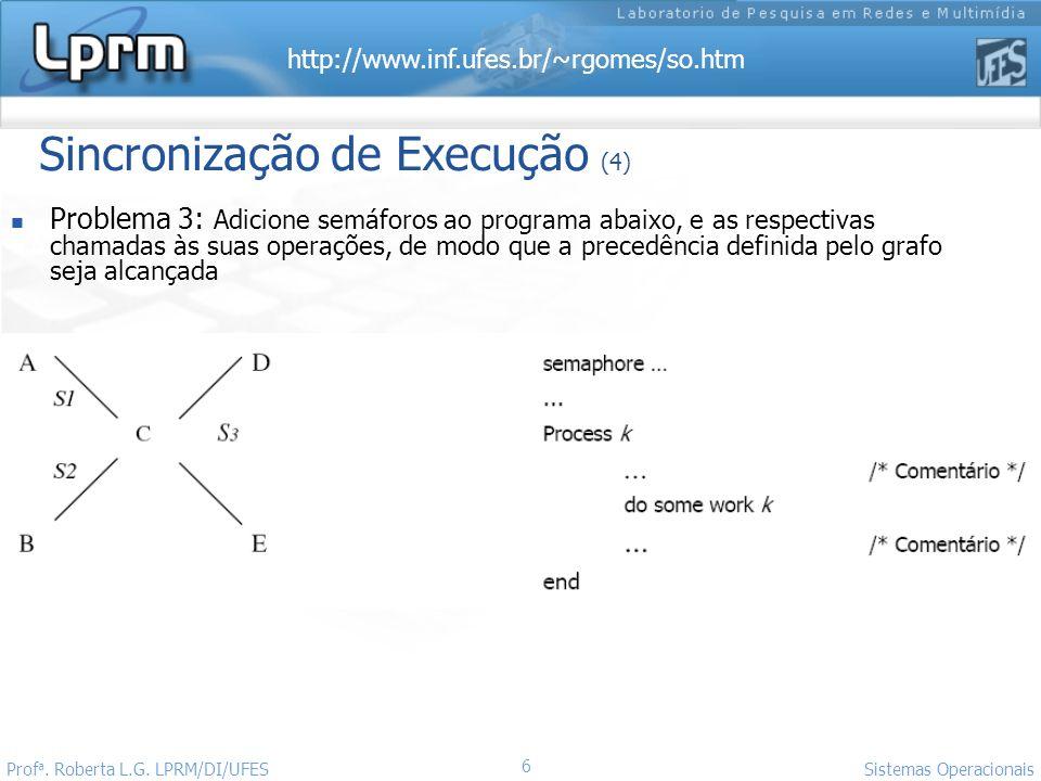 Sincronização de Execução (4)
