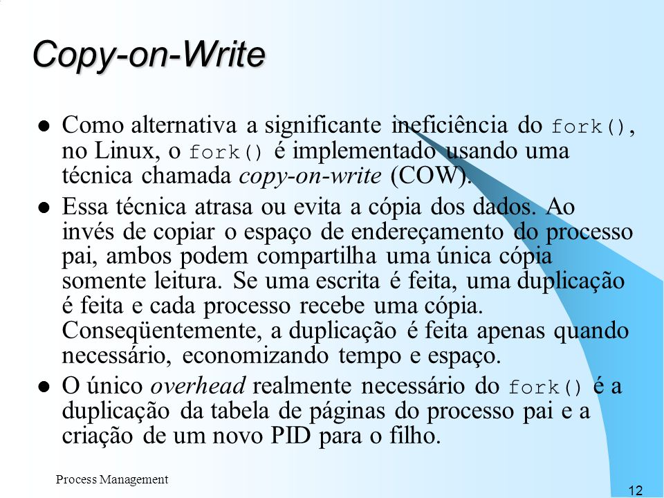 Copy-on-Write