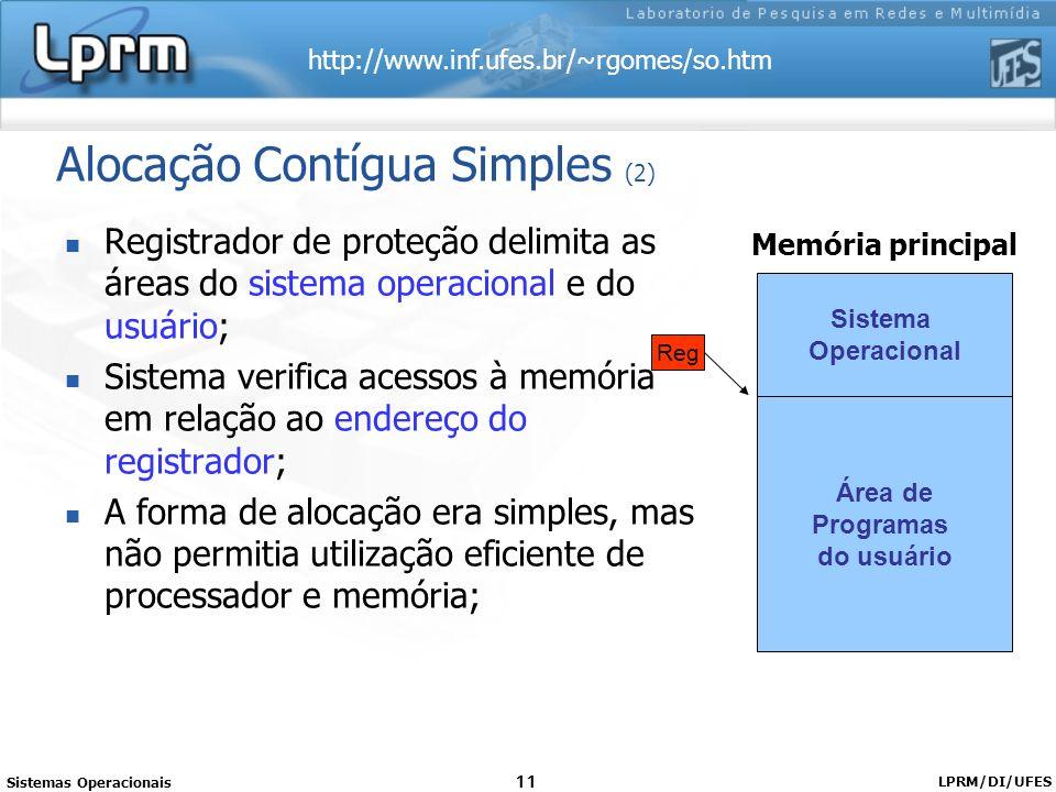 Alocação Contígua Simples (2)