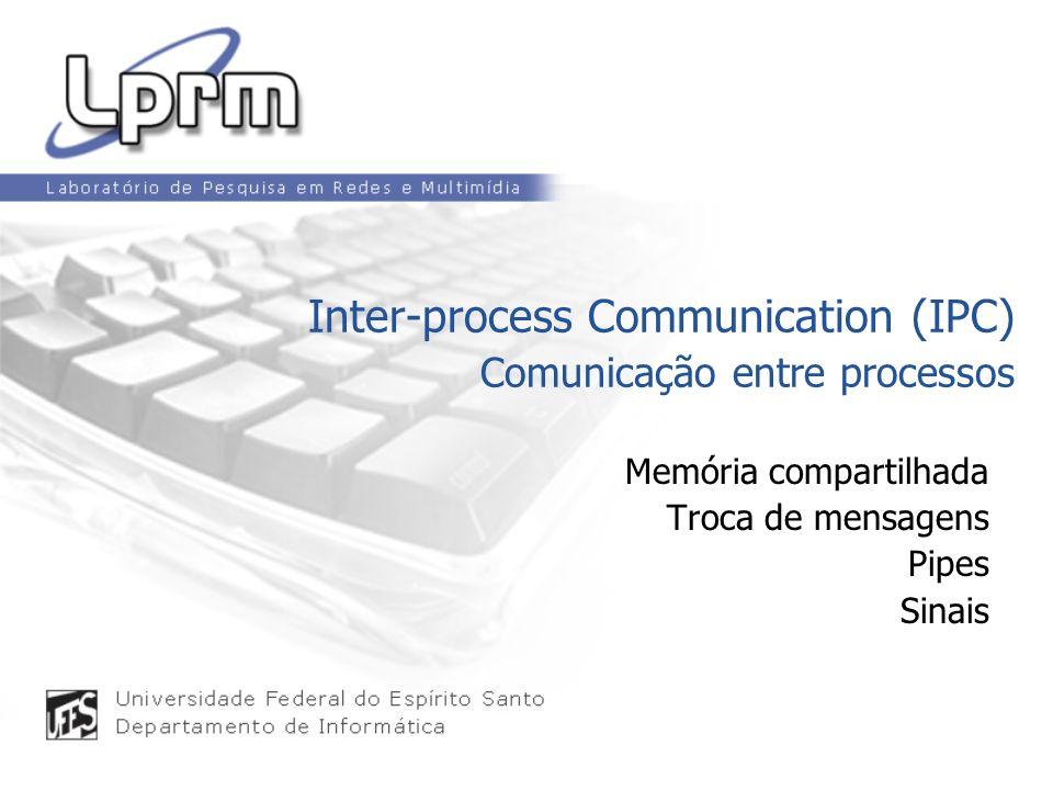 Inter-process Communication (IPC) Comunicação entre processos