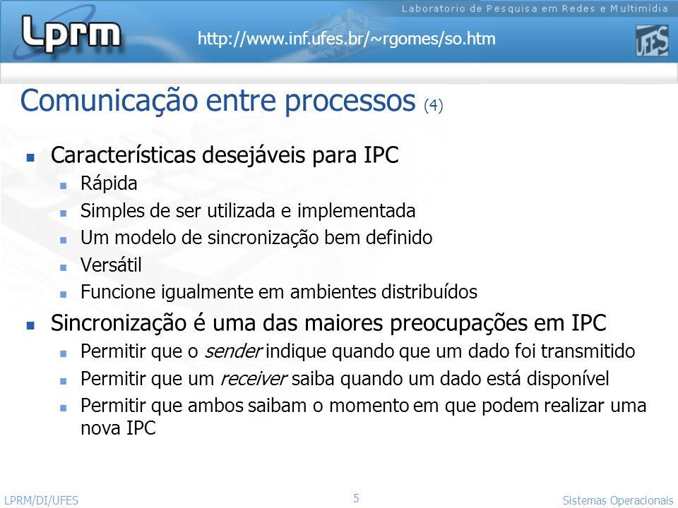 Comunicação entre processos (4)