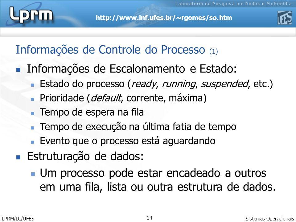 Informações de Controle do Processo (1)