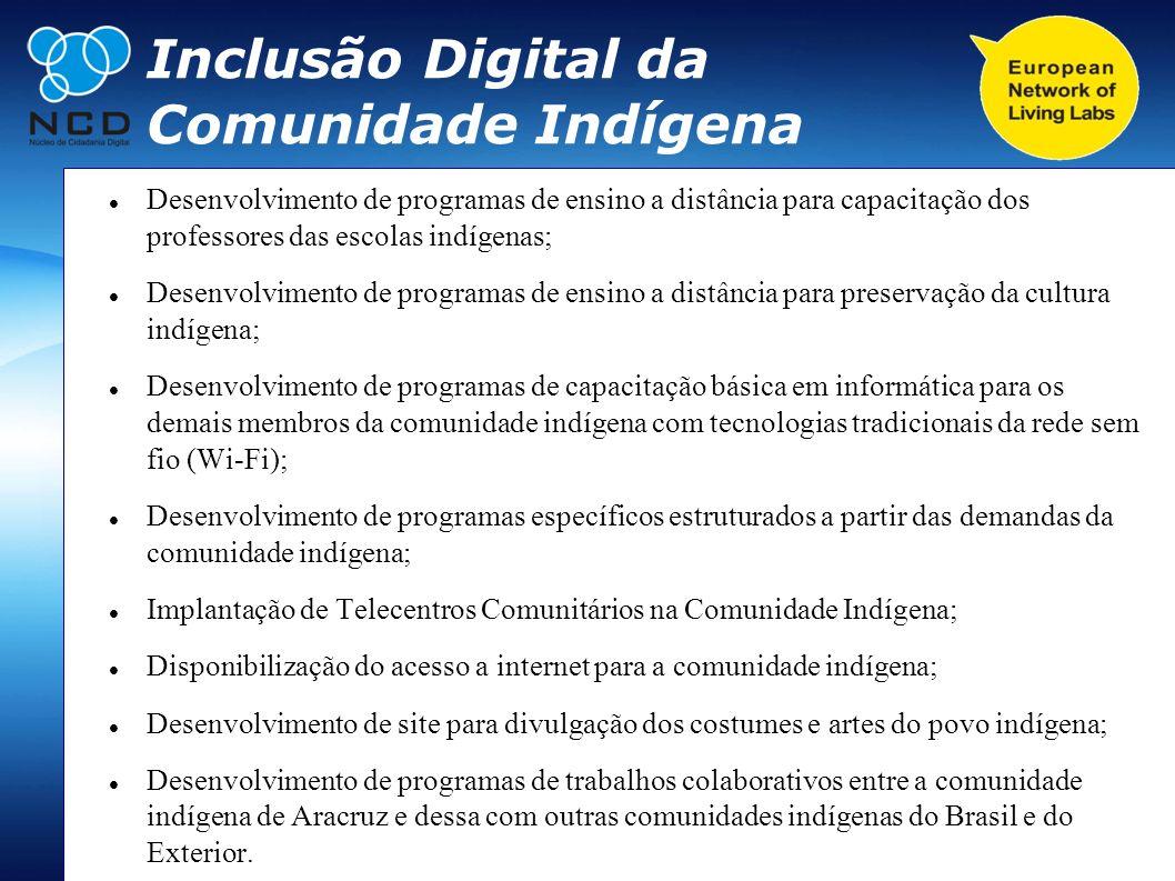 Inclusão Digital da Comunidade Indígena