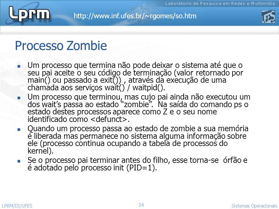Processo Zombie