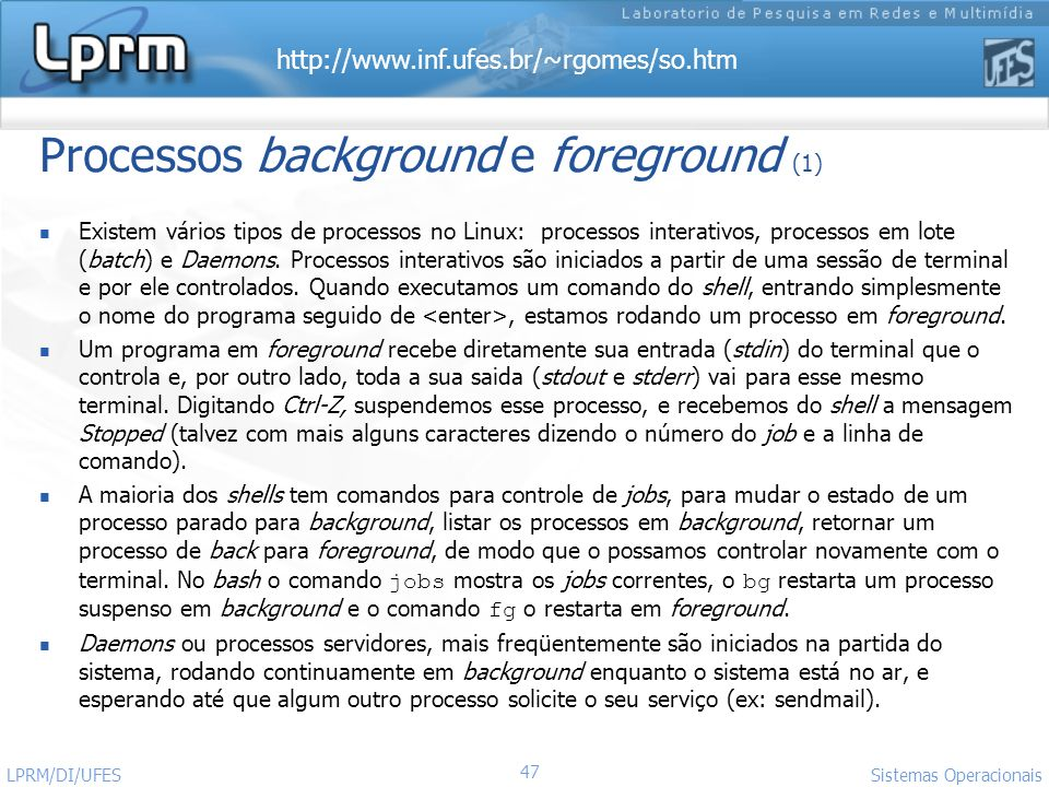 Processos background e foreground (1)