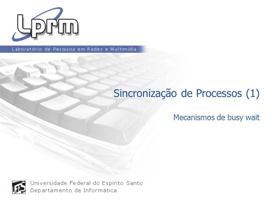 Sincronização de Processos (1)