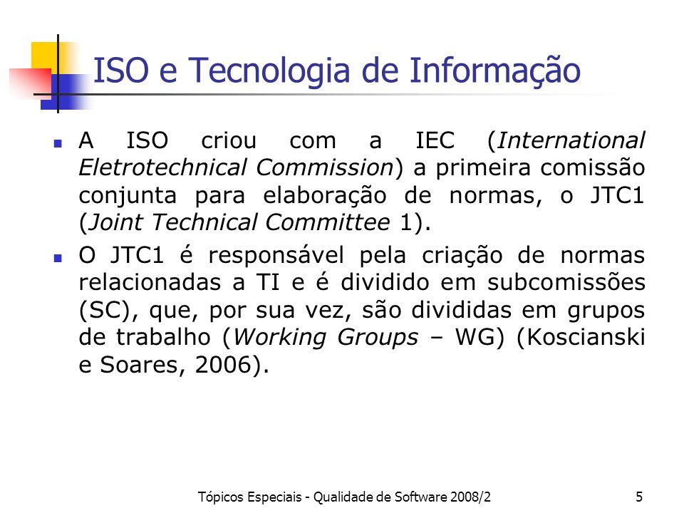 ISO e Tecnologia de Informação