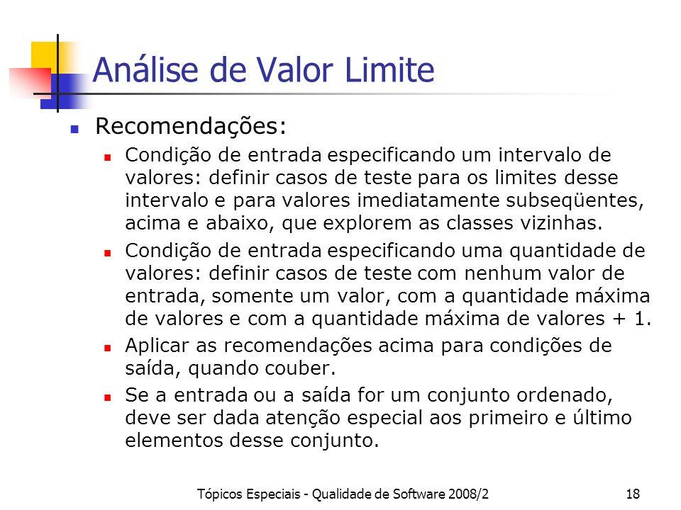 Análise de Valor Limite