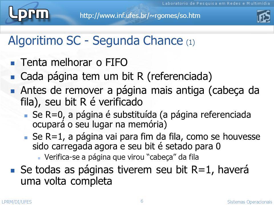 Algoritimo SC - Segunda Chance (1)