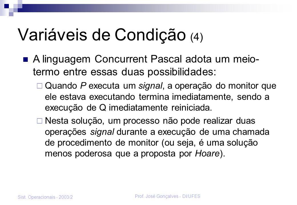 Variáveis de Condição (4)