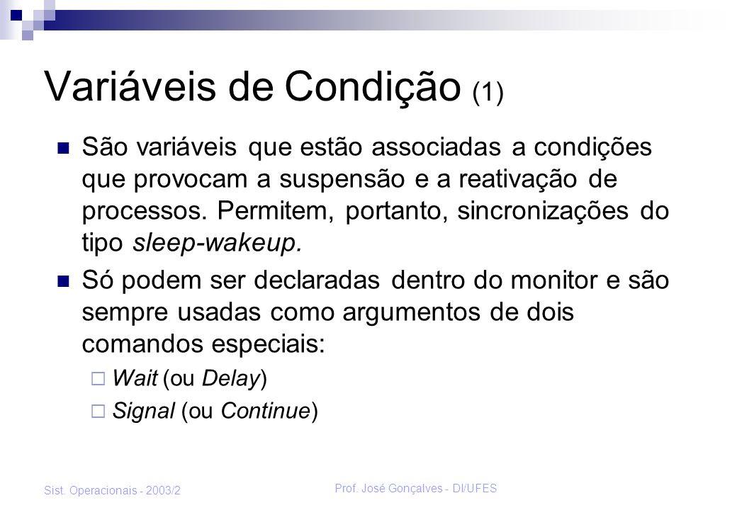 Variáveis de Condição (1)