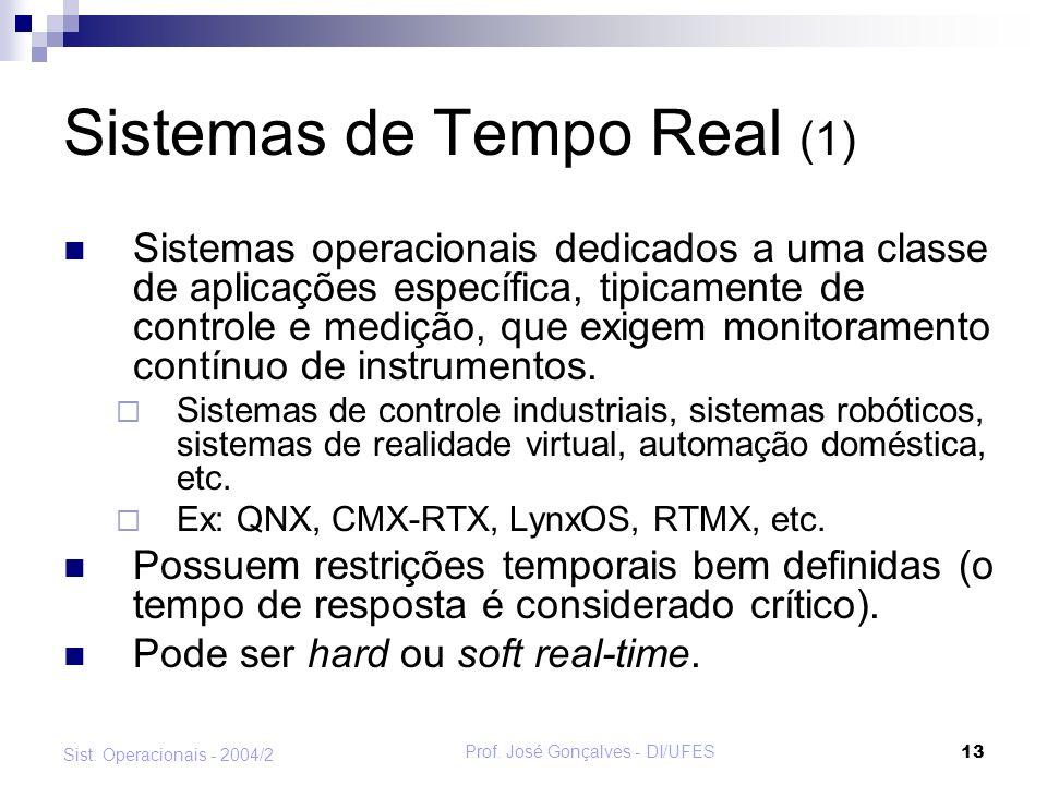 Sistemas de Tempo Real (1)
