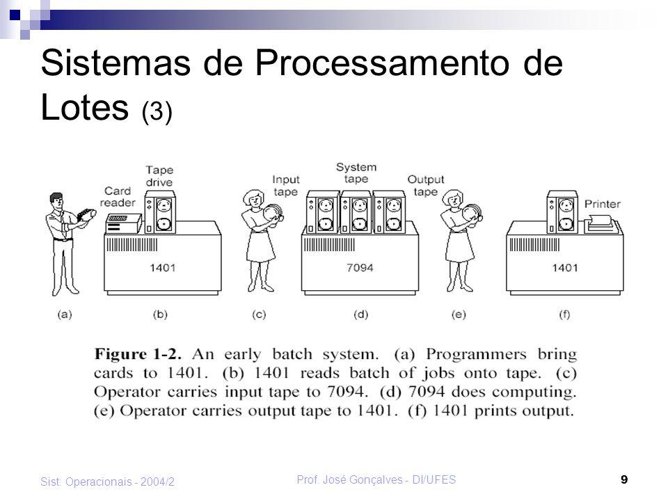 Sistemas de Processamento de Lotes (3)
