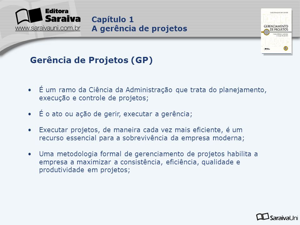 Gerência de Projetos (GP)