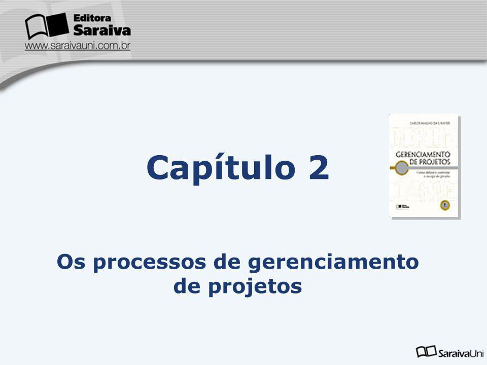 Os processos de gerenciamento