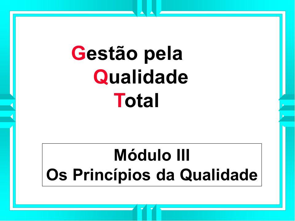 Os Princípios da Qualidade
