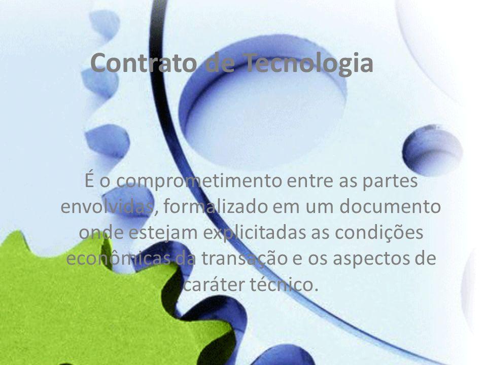 Contrato de Tecnologia
