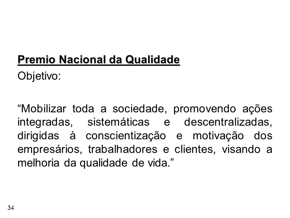 Premio Nacional da Qualidade