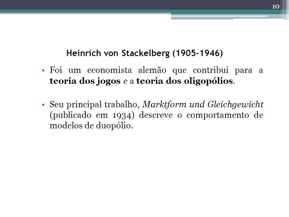 Heinrich von Stackelberg (1905-1946)