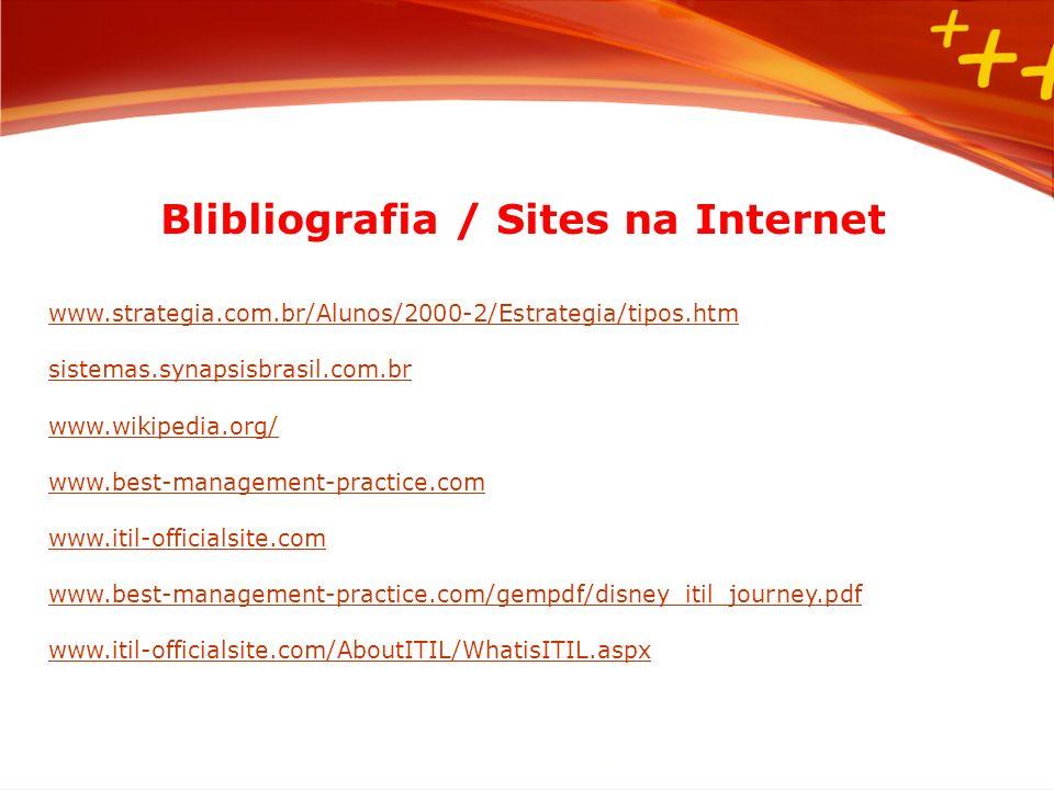 Blibliografia / Sites na Internet
