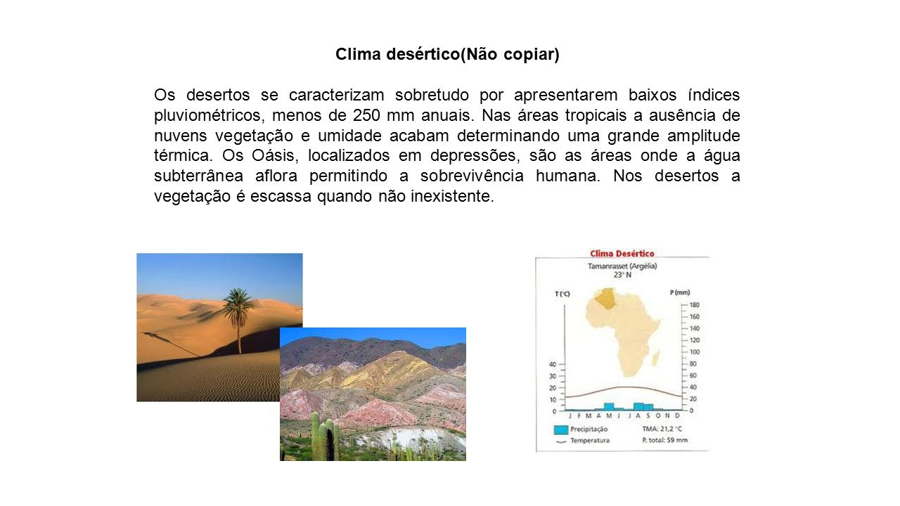 Clima desértico(Não copiar)