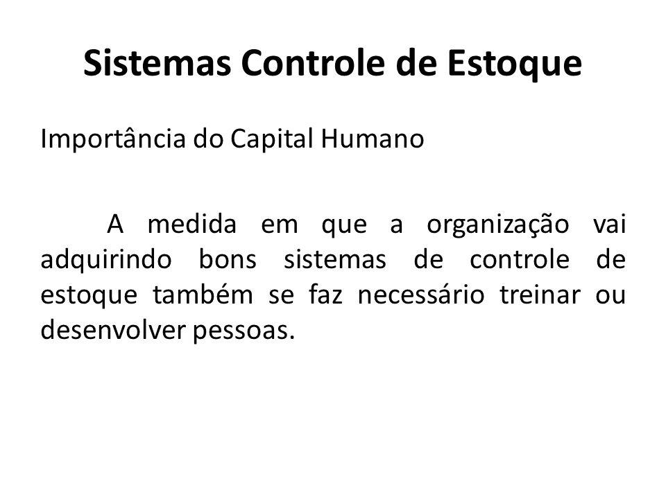 Sistemas Controle de Estoque