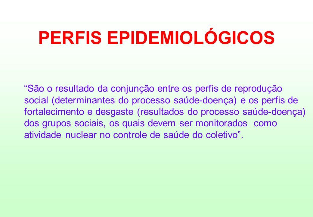 PERFIS EPIDEMIOLÓGICOS